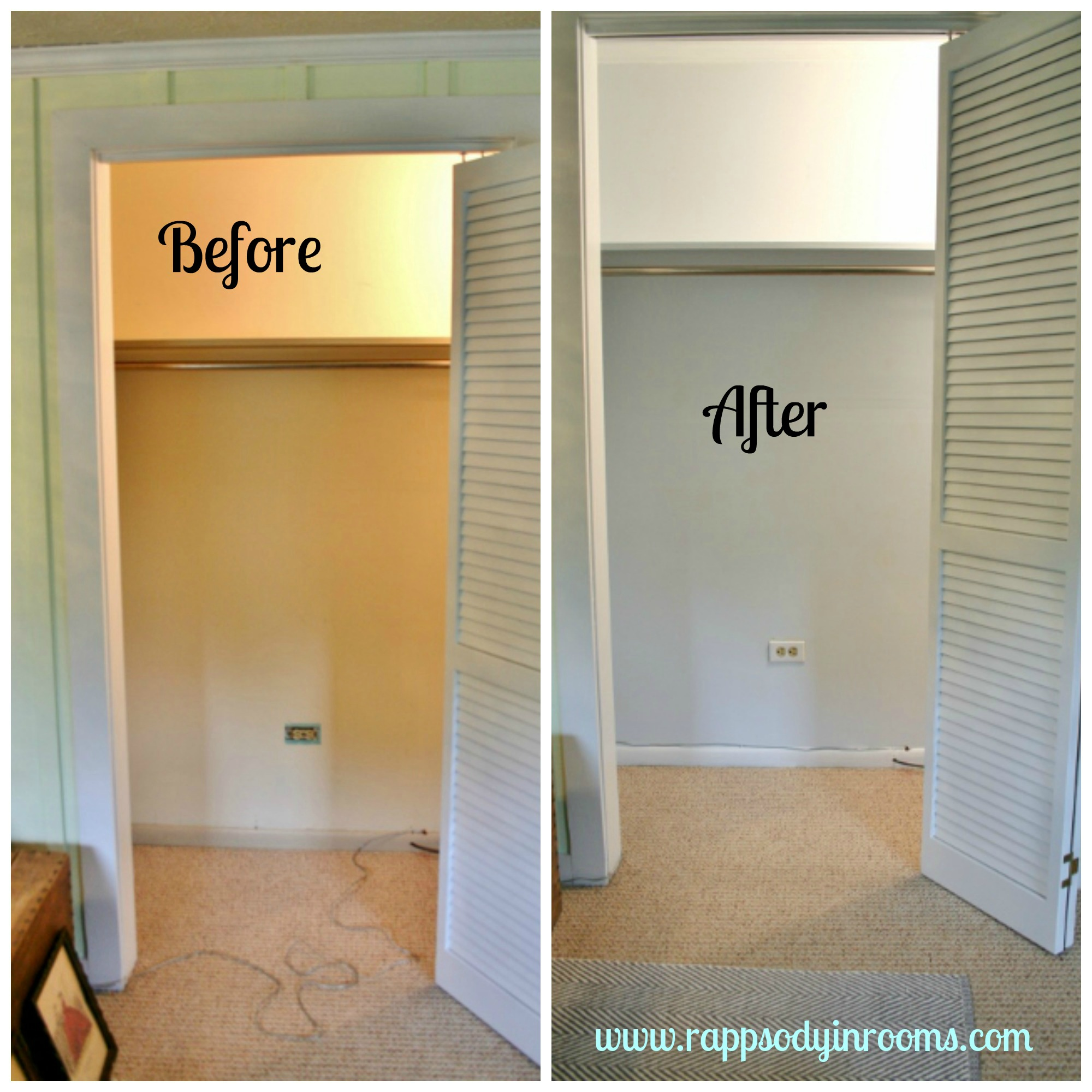 Organized Kitchen Before And After: My Glittery Closet