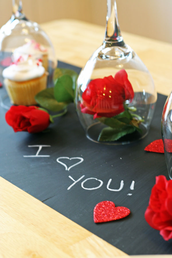 Valentine 39 s day diy dinner tablescape rhapsody in rooms for What should i make for valentine s dinner