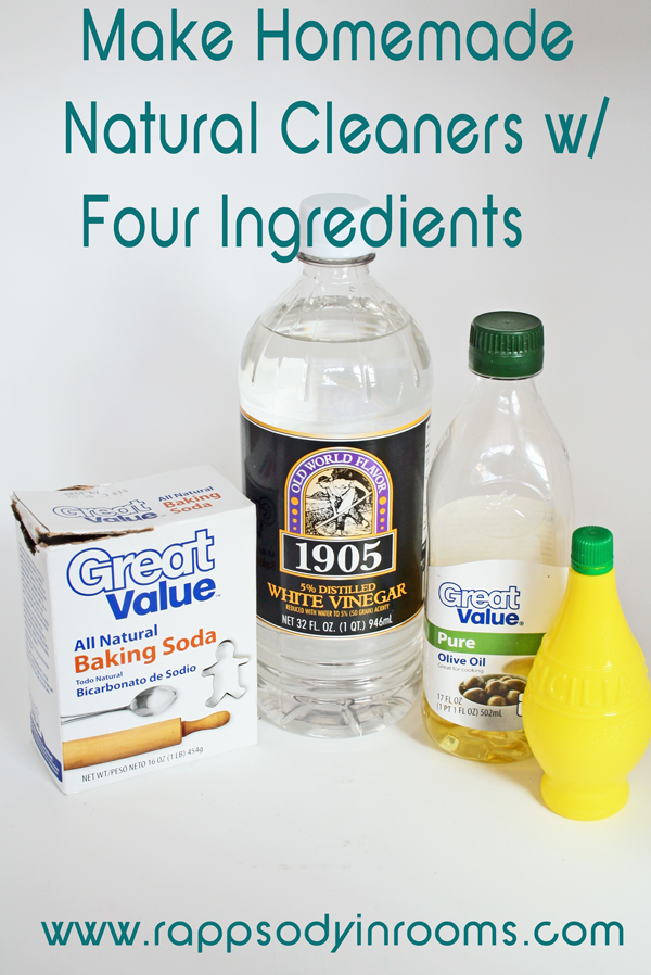 Homemade natural cleaning recipes rappsody in rooms - Home made cleaning products ...