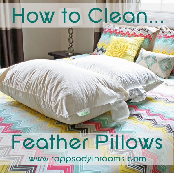 How To Clean Feather Pillows