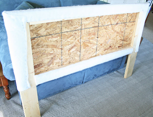 Make your own upholstered headboard rhapsody in rooms How to make your own headboard