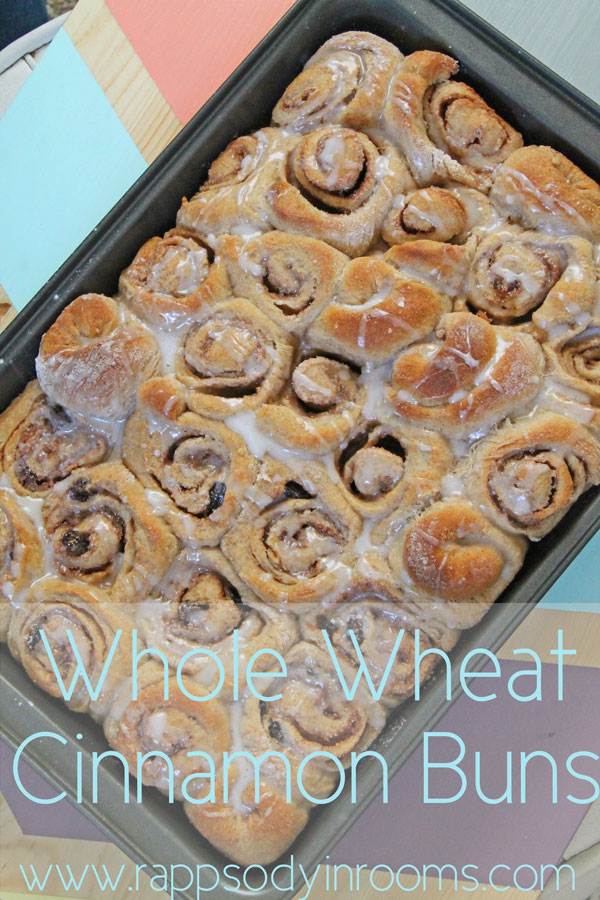Whole Wheat Cinnamon Buns | www.rappsodyinrooms.com